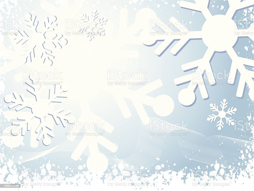 Winter snow royalty-free stock vector art