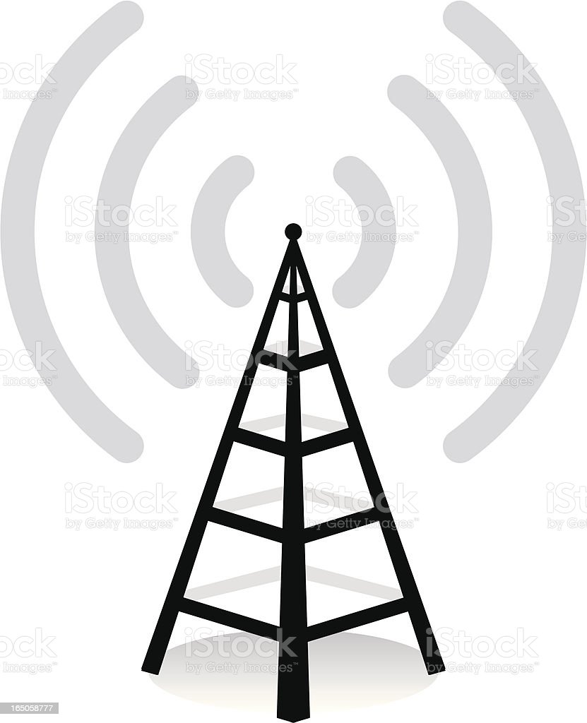wireless royalty-free stock vector art
