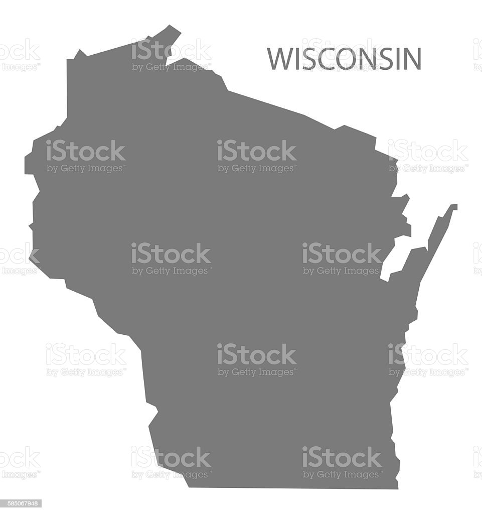 Wisconsin State Maps USA Maps Of Wisconsin WI Outline Map Of Maps - Map of us wisconsin