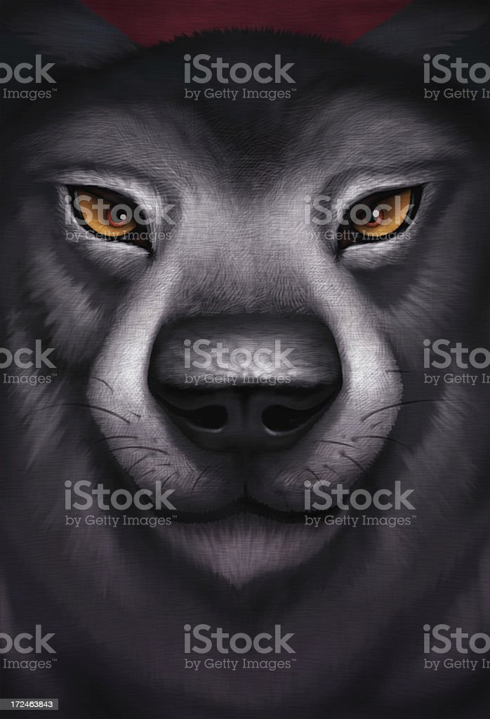 wolf head royalty-free stock vector art