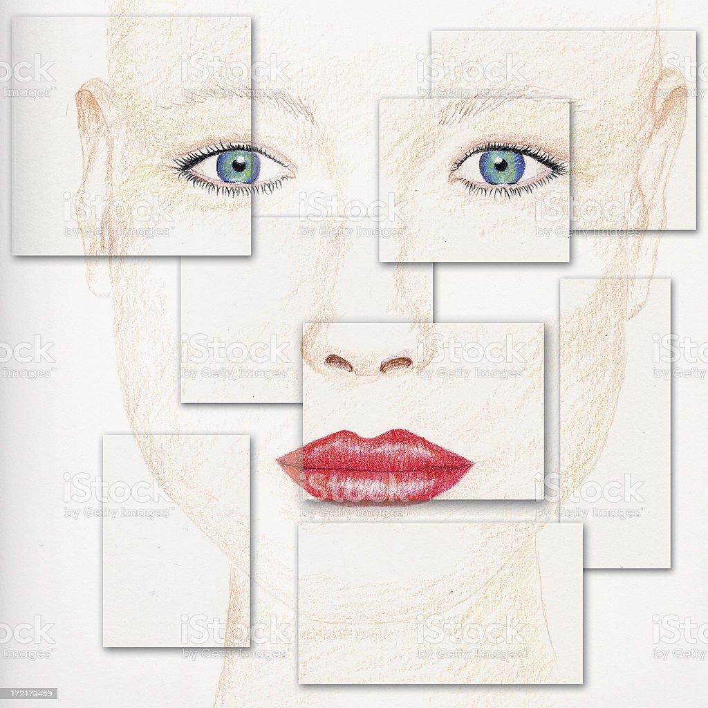 Woman royalty-free stock vector art