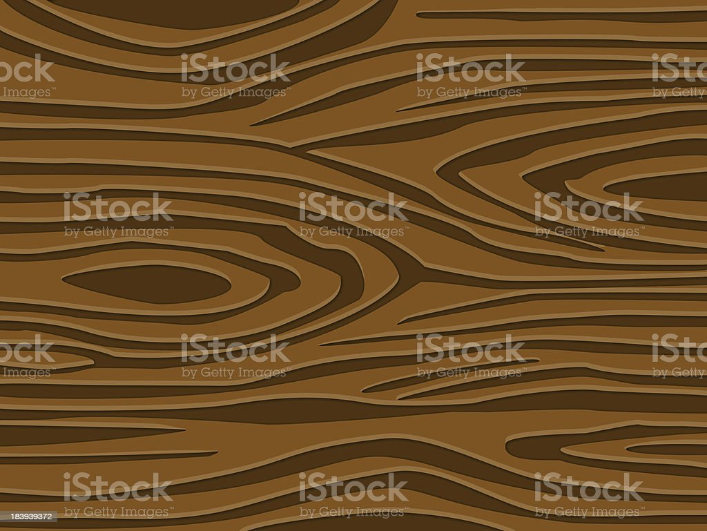 Wood textures vector art illustration