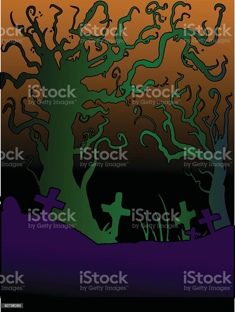 woods royalty-free stock vector art