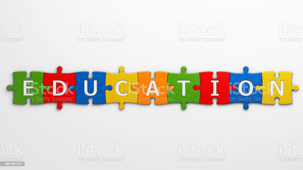 word education royalty-free stock vector art
