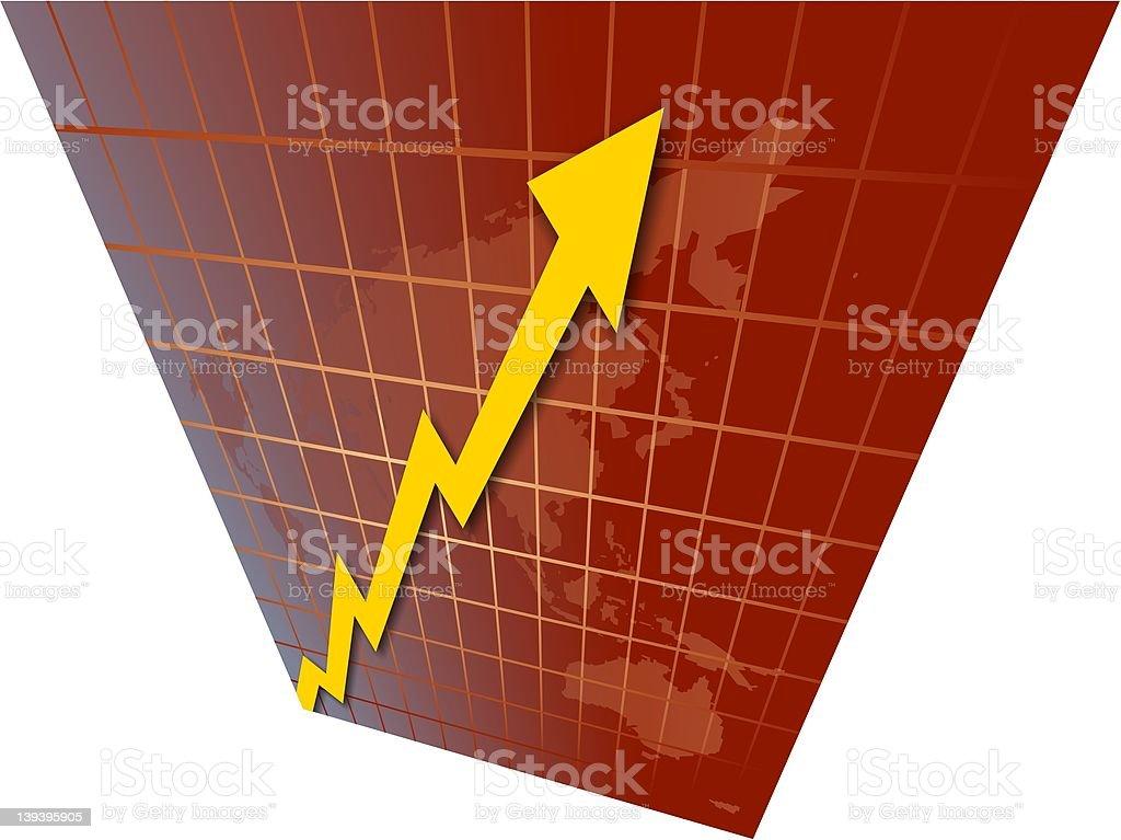 World Chart royalty-free stock vector art