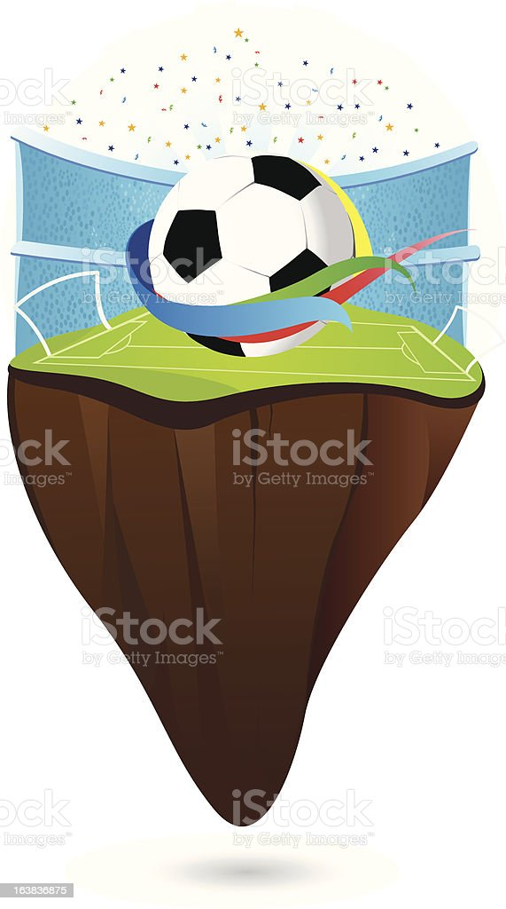 WorldCup royalty-free stock vector art