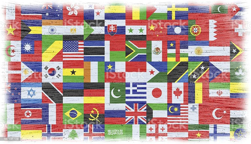 world flag royalty-free stock vector art