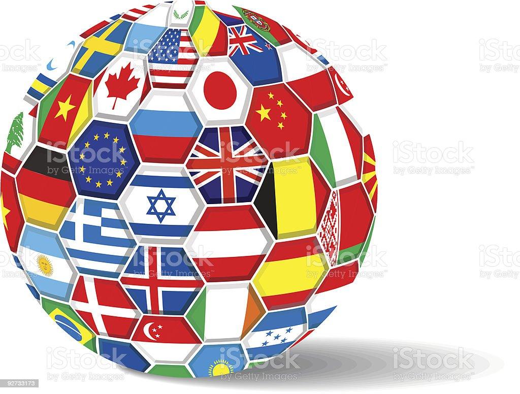 World flags. royalty-free stock vector art