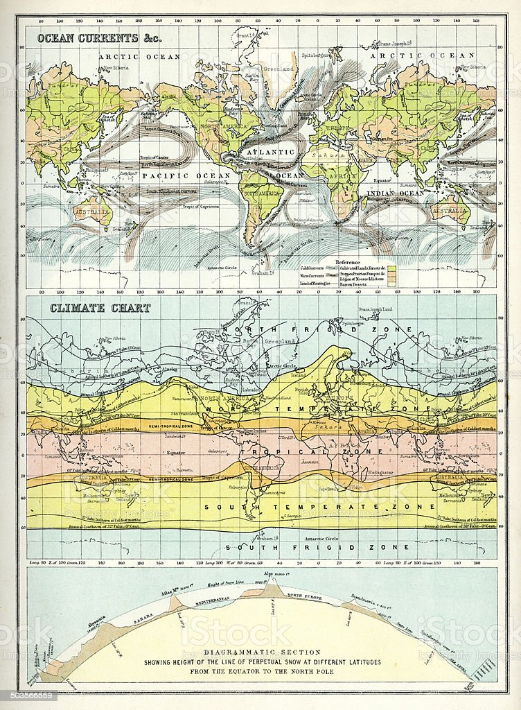 World Maps vector art illustration
