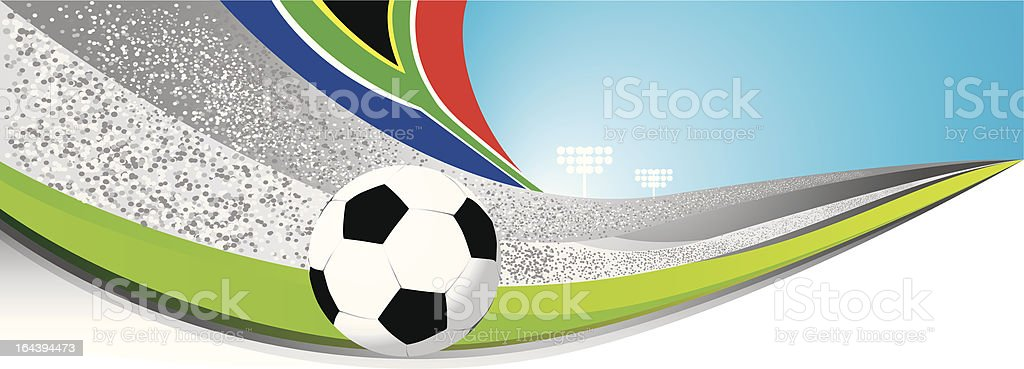 Worldcup Background royalty-free stock vector art