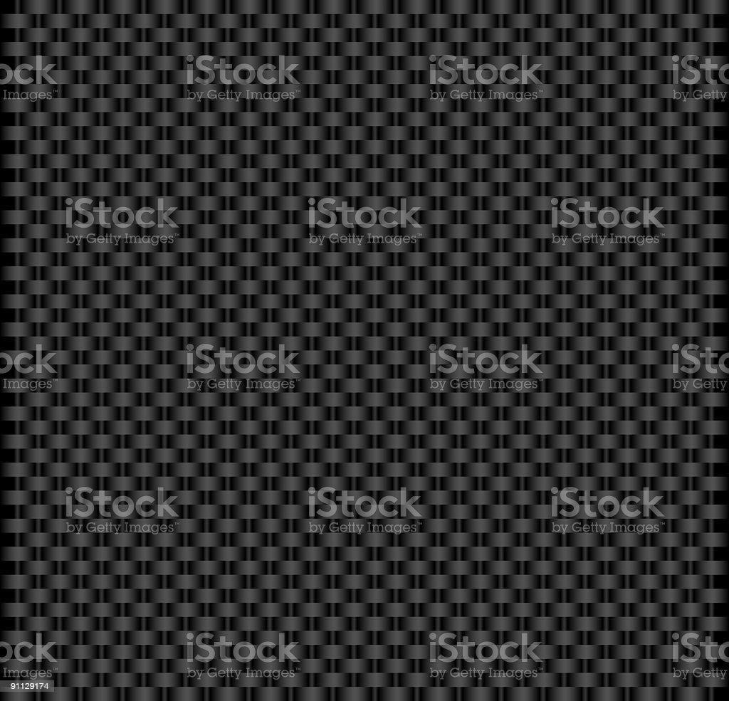 Woven fabric vector art illustration
