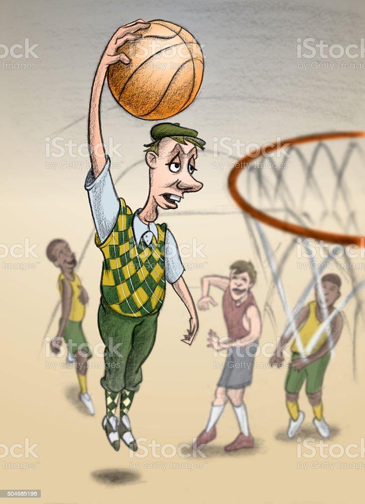 Wrong uniform vector art illustration