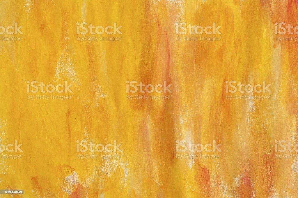 Yellow acrylic background vector art illustration