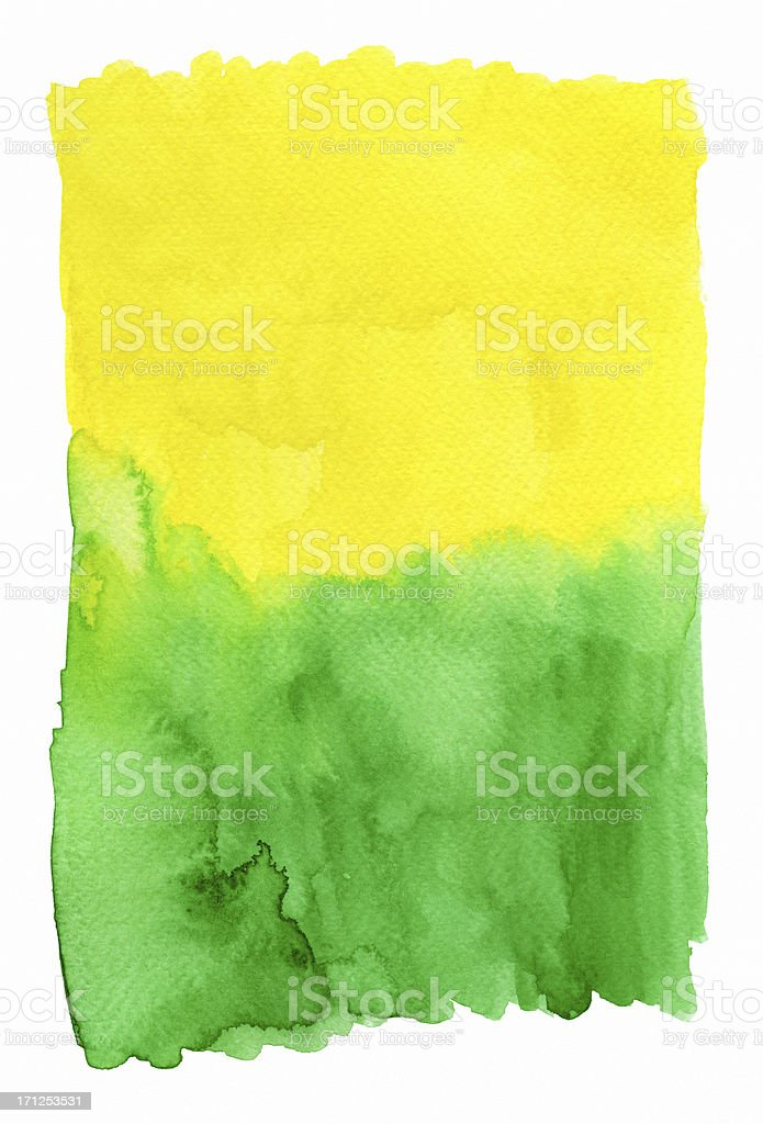 Yellow Green (Clipping Path) royalty-free stock vector art