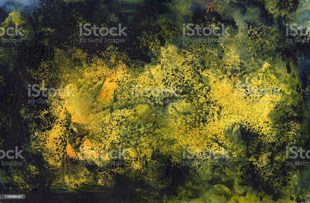 Yellow Maremagnum Background vector art illustration