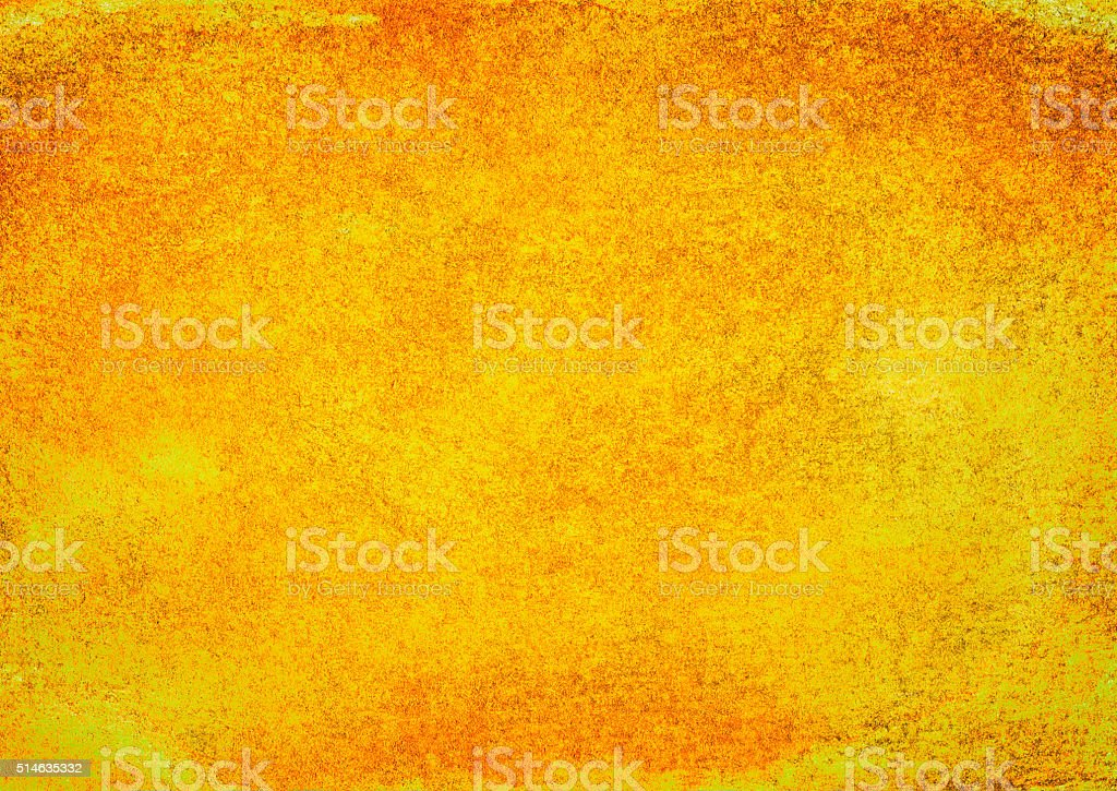 Yellow, Orange Background Grunge Dirty Abstract Texture vector art illustration