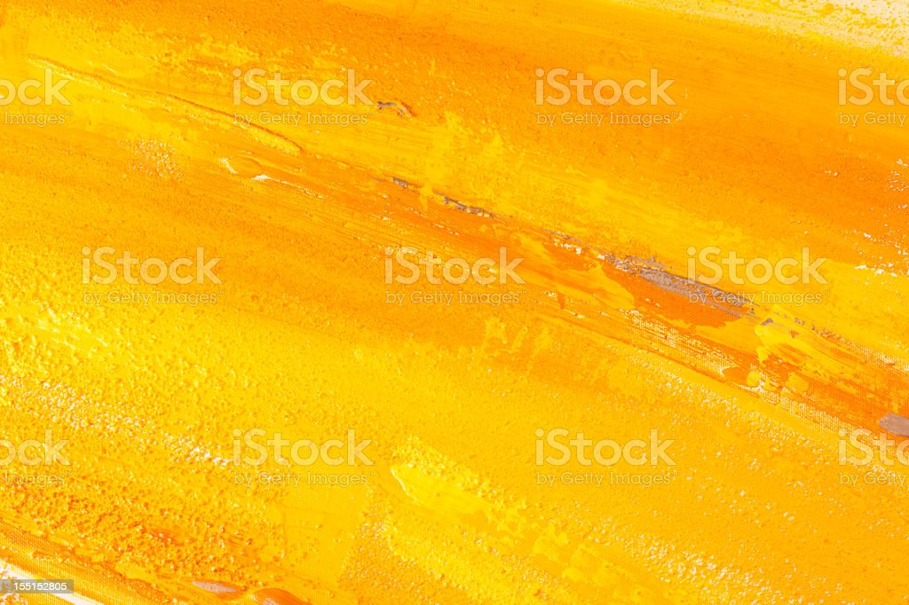 Yellow paint. royalty-free stock vector art