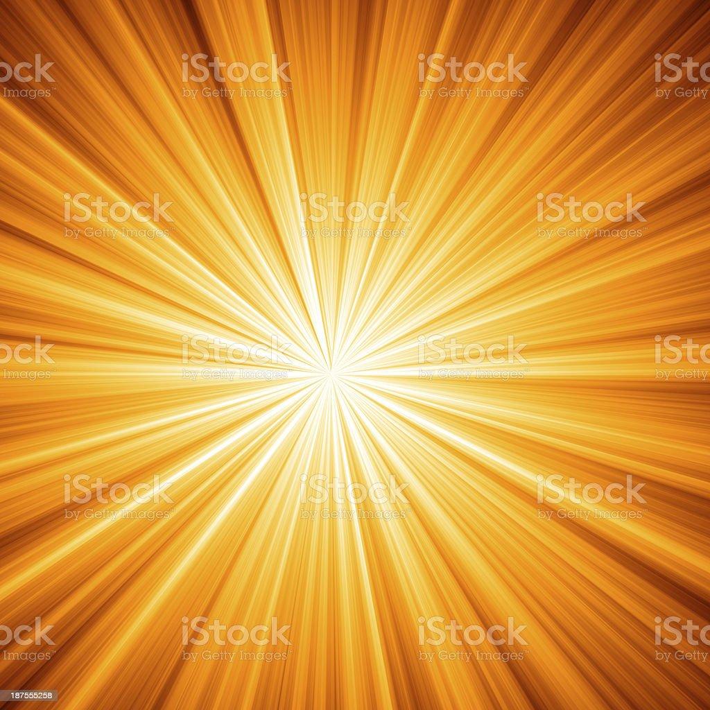 Yellow Star Burst Background royalty-free stock vector art