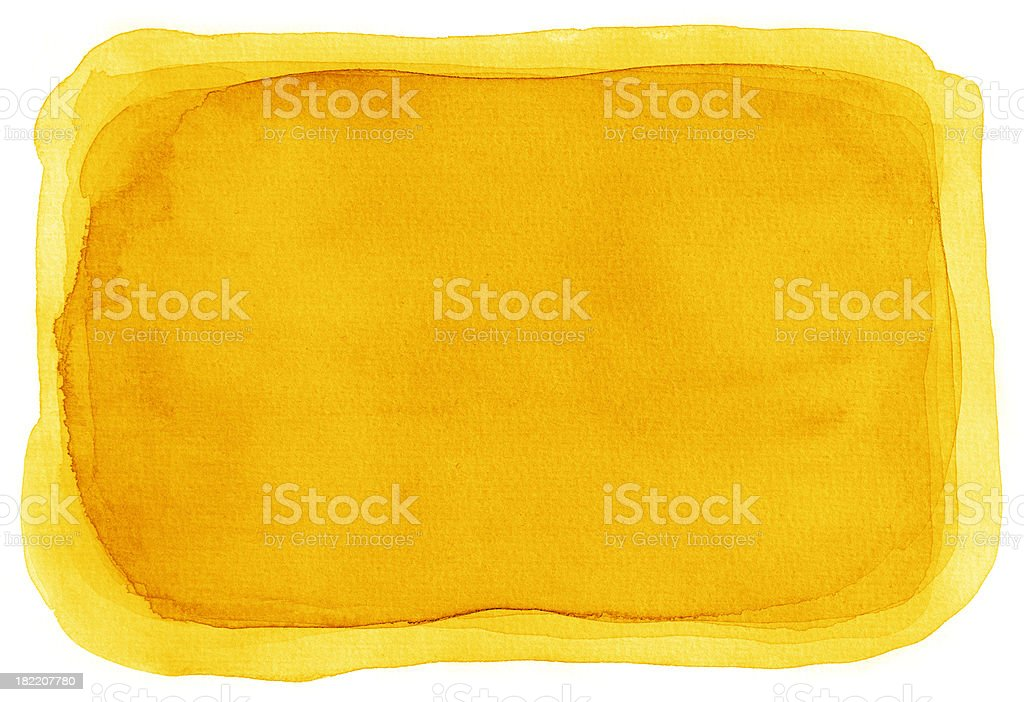 Yellow Watercolour Background royalty-free stock vector art