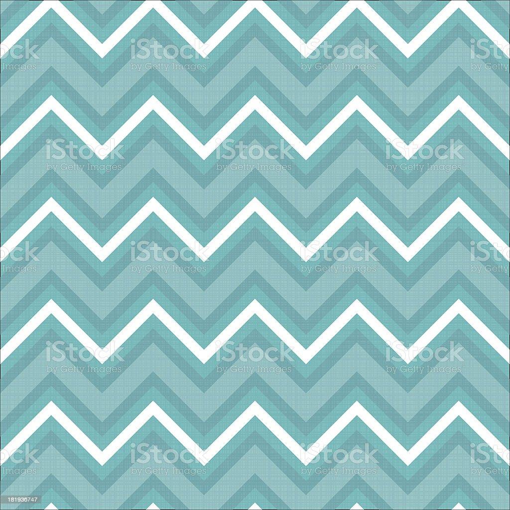 Zigzag pattern in light blue royalty-free stock vector art
