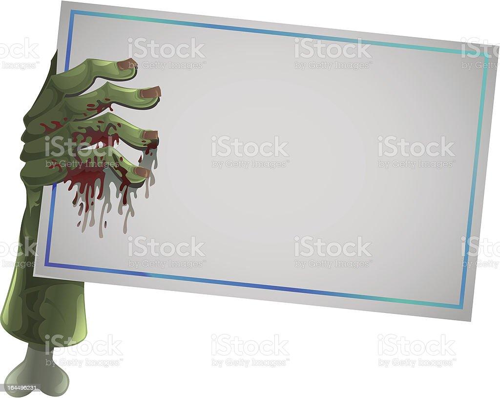 zombie hand royalty-free stock vector art