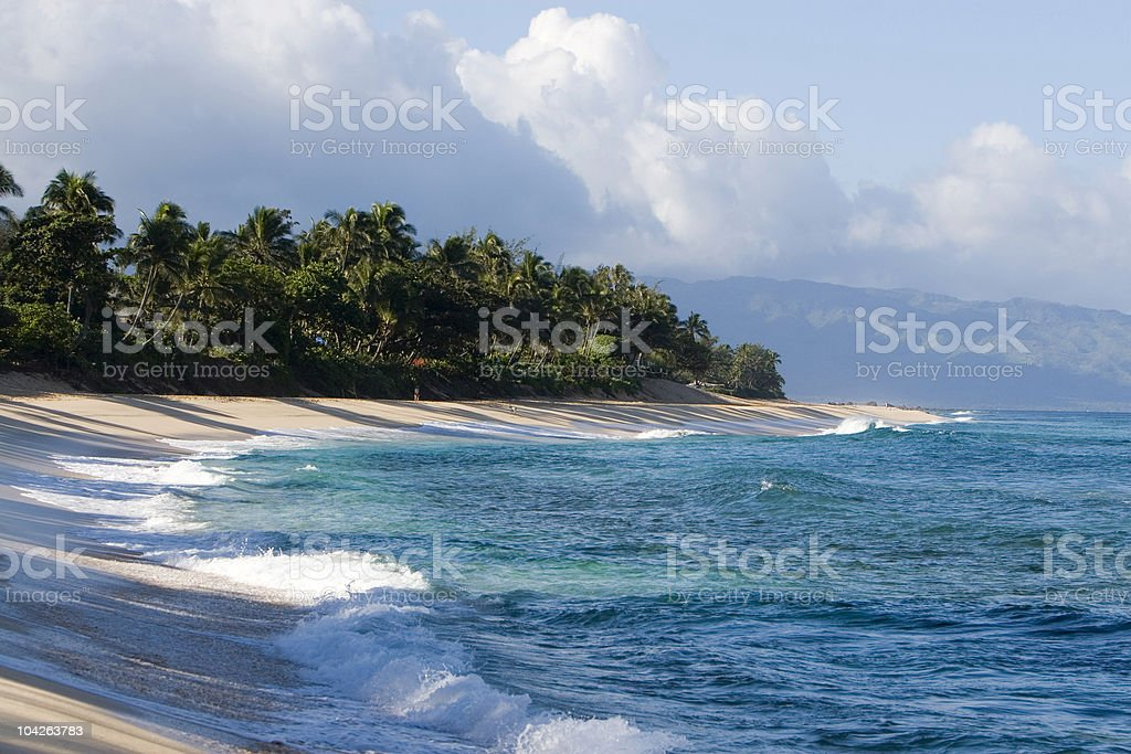 ISLAND SCENIC royalty-free stock photo