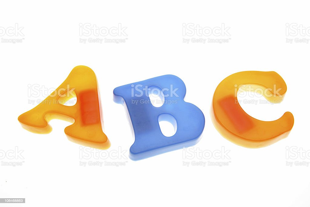 ABC royalty-free stock photo