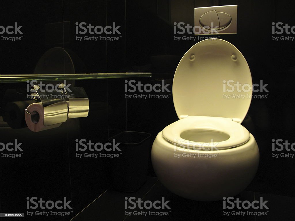 WC royalty-free stock photo