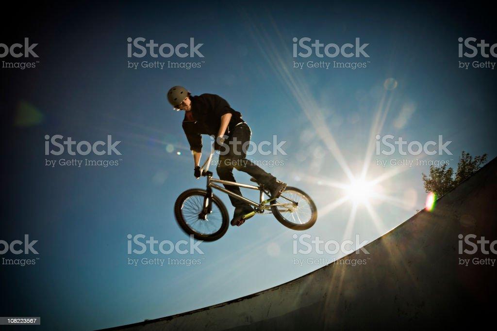 BMX AIR!! stock photo
