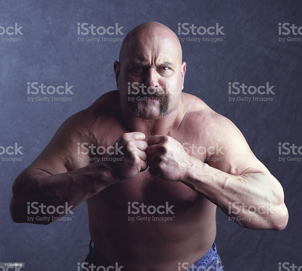 TOUGH GUY-2 stock photo