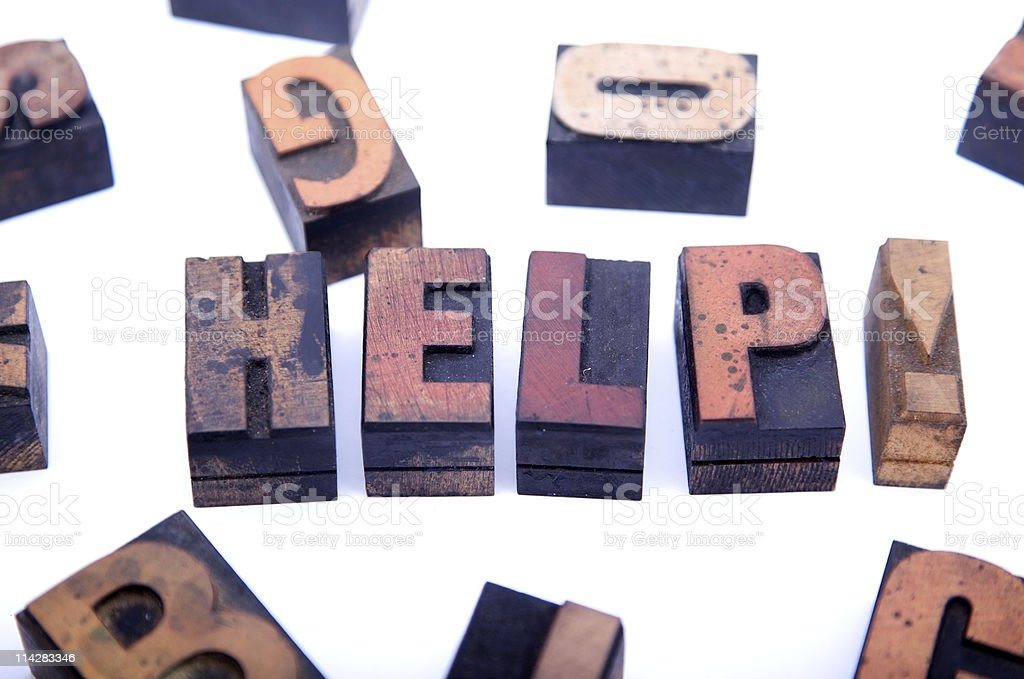 HELP!... royalty-free stock photo