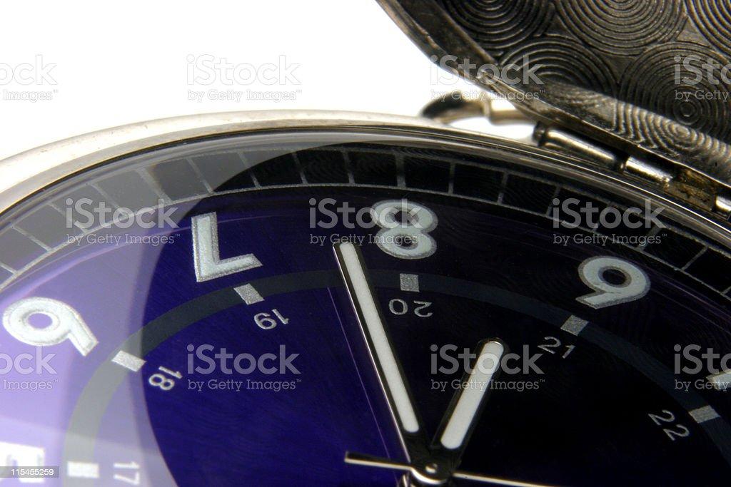 8:38 stock photo