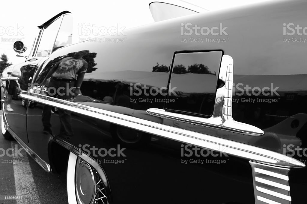 BLACK CLASSIC royalty-free stock photo