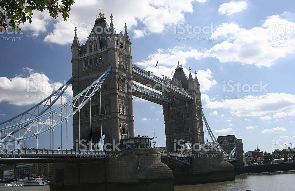 LONDON BRIDGE royalty-free stock photo