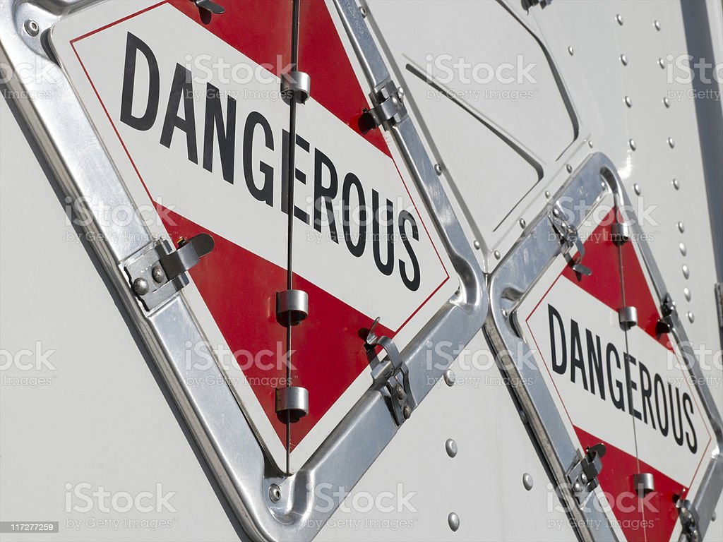 DANGEROUS stock photo