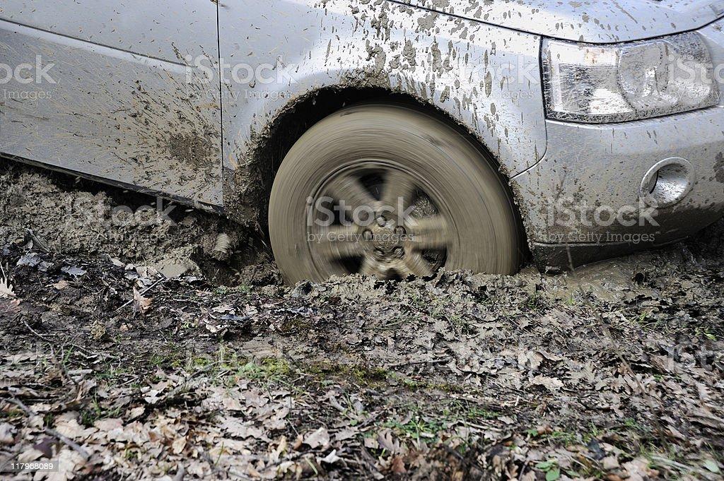 SUV royalty-free stock photo