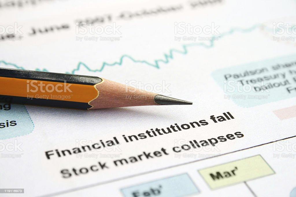 GLOBAL CRISSIS stock photo