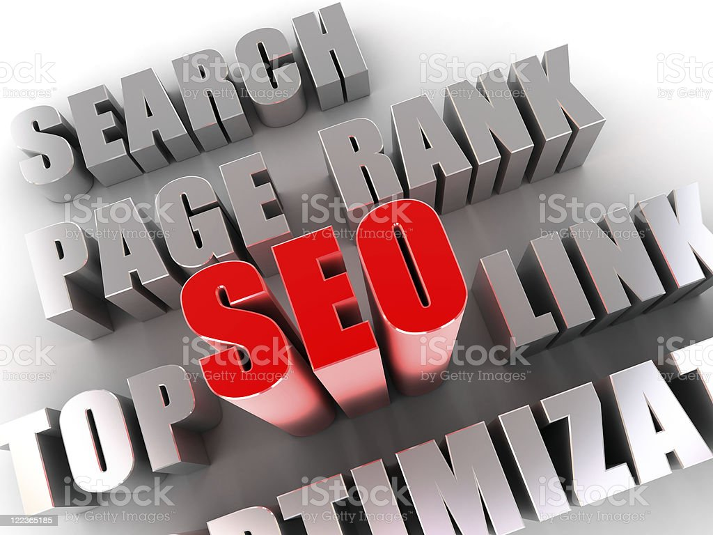Seo 스톡 사진 122365185 - iStock[b]SEO[/b] - Search Engine Optimization. Red 3d SEO word and other... - 웹
