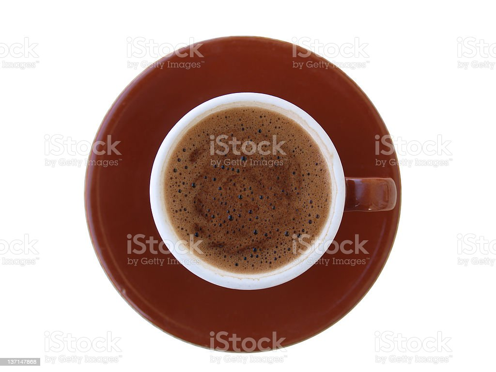 CUP OF COFFE royalty-free stock photo