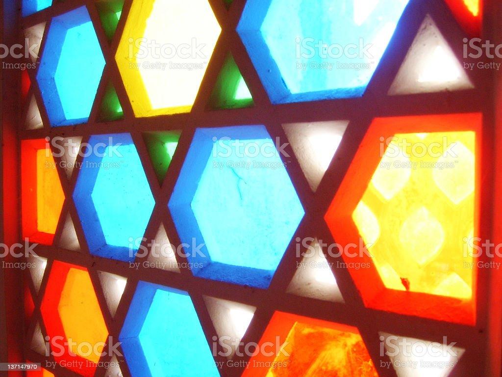 MOSQUE WINDOW royalty-free stock photo