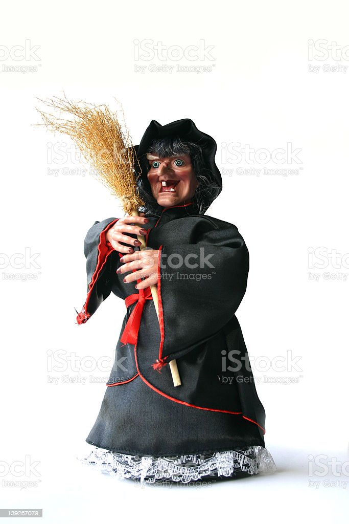 OLD WITCH-04 royalty-free stock photo
