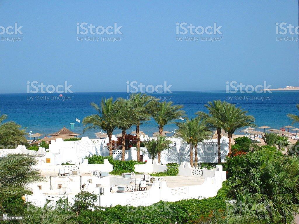 SAFAGA BEACH stock photo