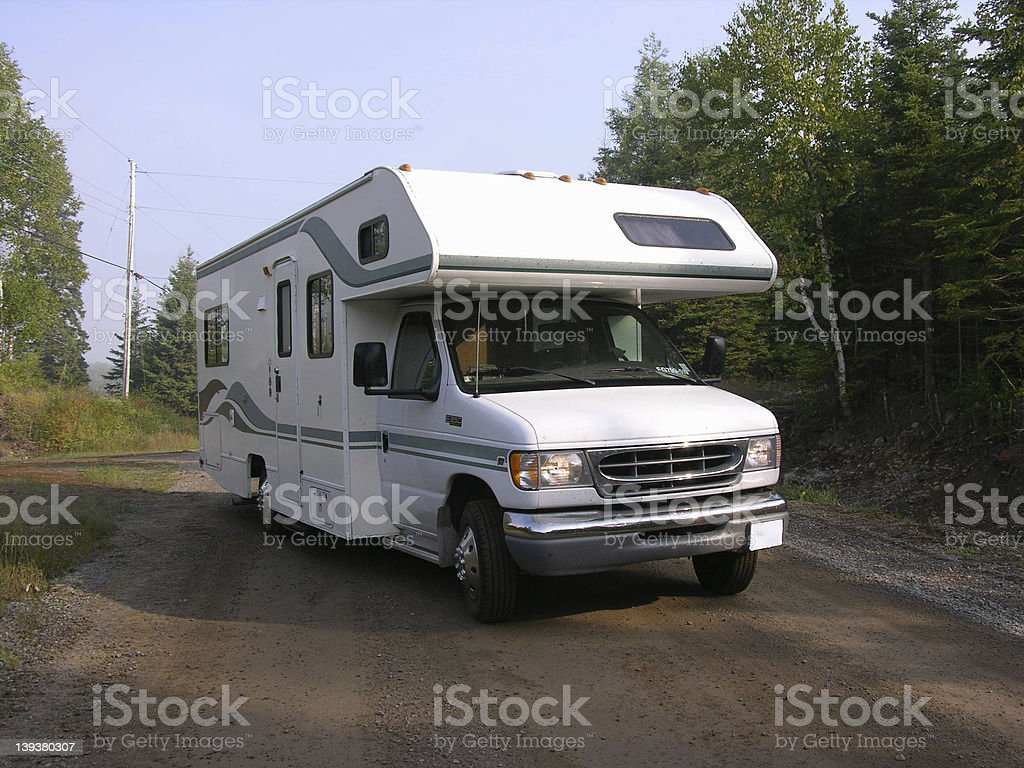 RV royalty-free stock photo