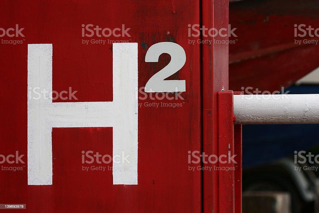 H2 stock photo