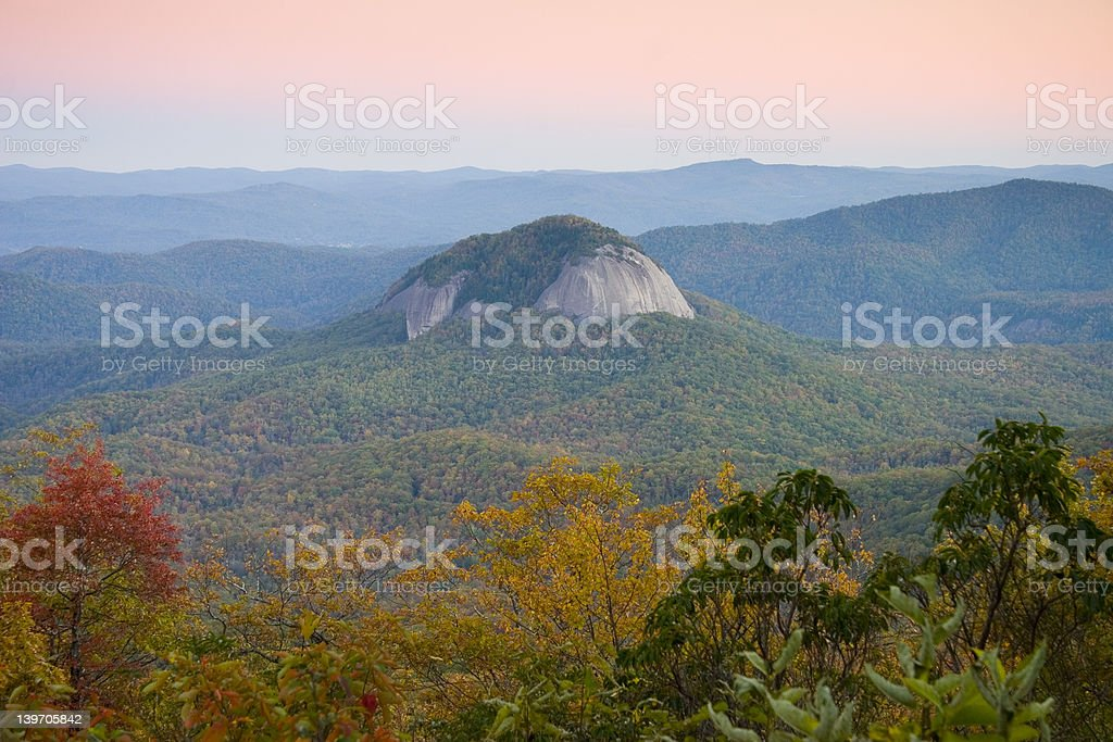 LOOKING GLASS ROCK royalty-free stock photo