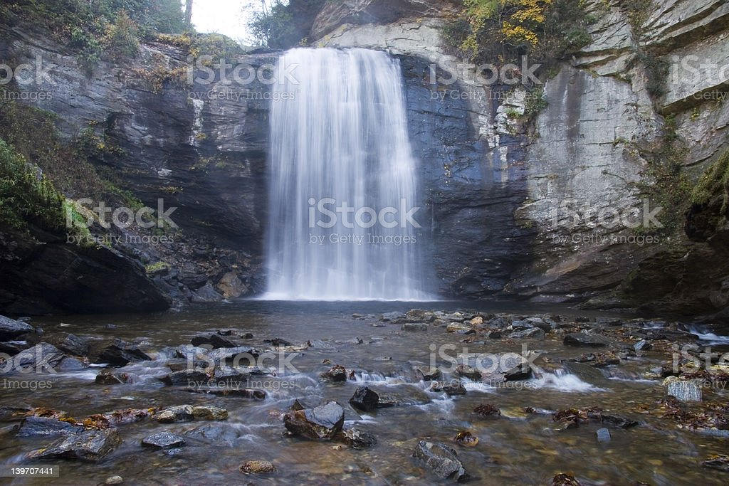 LOOKING GLASS FALLS 3 royalty-free stock photo