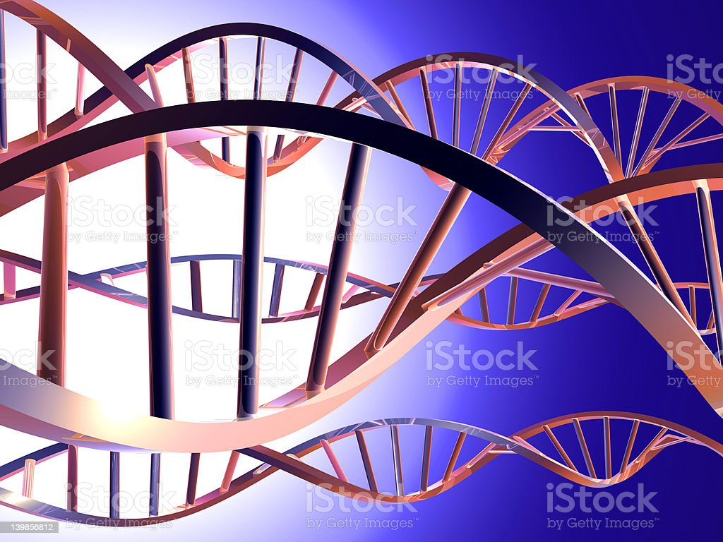 DNA 2 royalty-free stock photo