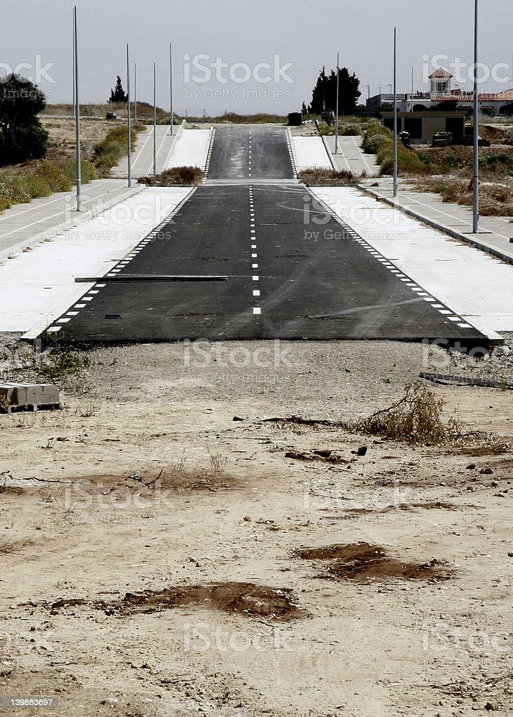 ANY ROAD royalty-free stock photo