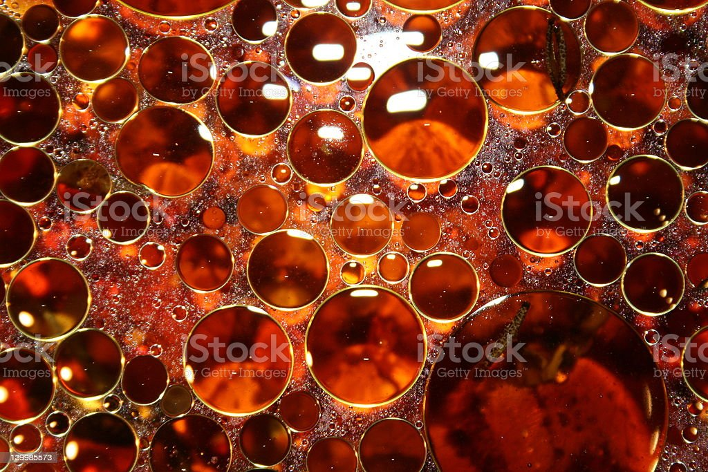 OIL DROPS royalty-free stock photo