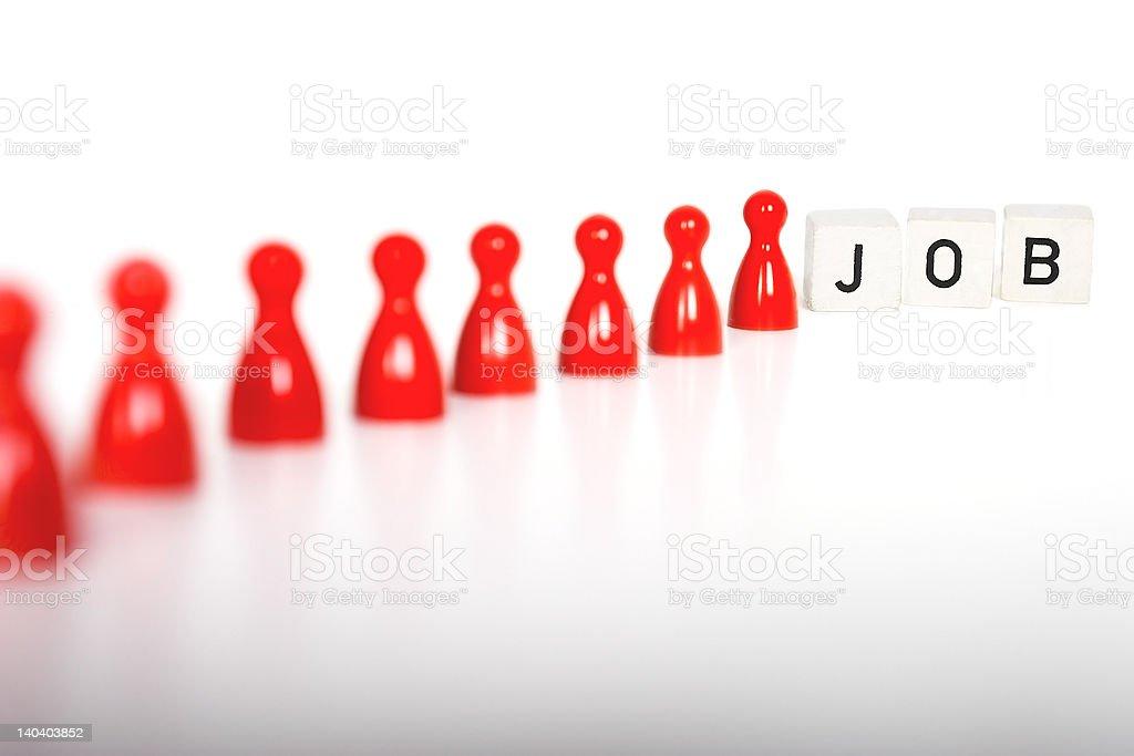 JOB royalty-free stock photo